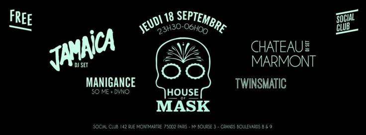 banniere house of mask